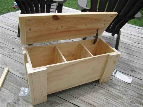 Diy Storage Bench Seat Home Furniture Design