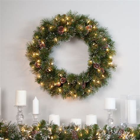 40 best battery operated christmas wreath images on