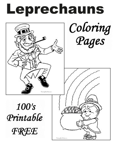 leprechaun coloring page kindergarten leprechaun coloring pages for st patrick day