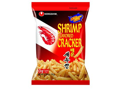 Korean Snack nongshim spicy shrimp crackers