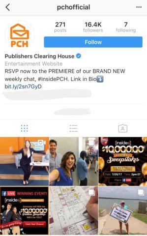Pch Instagram - pch blog pch winners circle