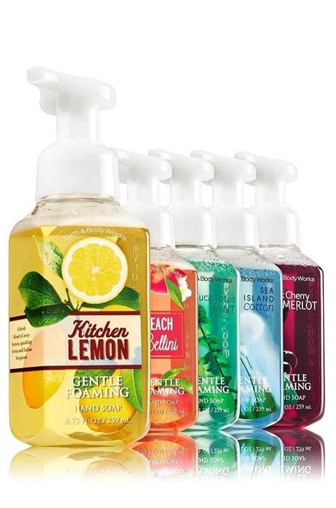 bathtub liquid soap bath and body works gentle foaming liquid hand soap 8 75 fl oz 259ml u choose ebay