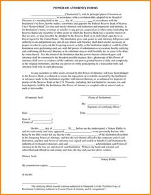 10 free power of attorney form to print out ledger paper