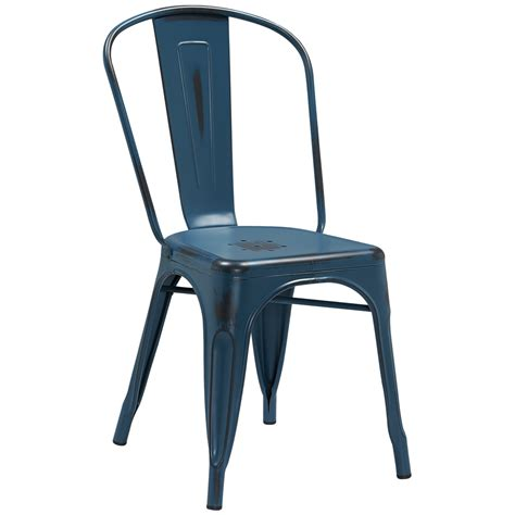 Tabouret Chairs by Style Distressed Indoor Outdoor Side Chair Tabouret