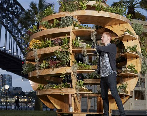 scouted ikea growroom  diy vertical garden pavilion