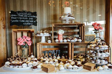 desserts bars rustic dessert bar display