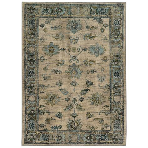Best Prices For Area Rugs Home Decorators Collection Chandler Beige 1 Ft 10 In X 3 Ft Area Rug 9211600810 The Home Depot