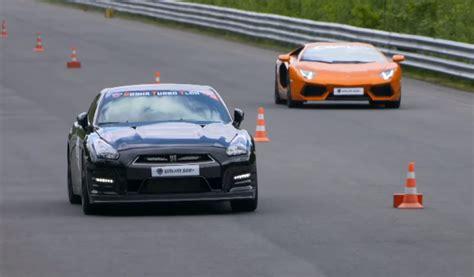 Lamborghini Aventador Vs Nissan Gtr V 237 Deo Lambo Aventador Biturbo Vs Nissan Gt R Vs Bmw M6