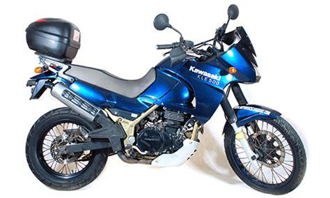 Motorrad Mieten Lanzarote by Kawasaki Kle 500cc In Lanzarote Mieten Motorental Lanzarote