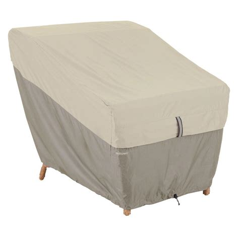 Patio Lounge Chair Covers Classic Accessories Veranda Patio Lounge Chair Cover 70912 The Home Depot