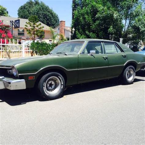 ford los angeles 1975 ford maverick 4 door for sale in los angeles california