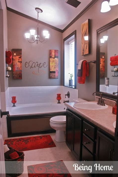 red bathroom decorating ideas 1000 ideas about brown bathroom on pinterest modern