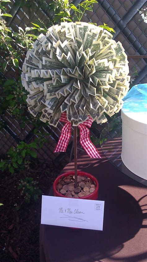 money as wedding gift creative cash gifts for grads money trees gift and
