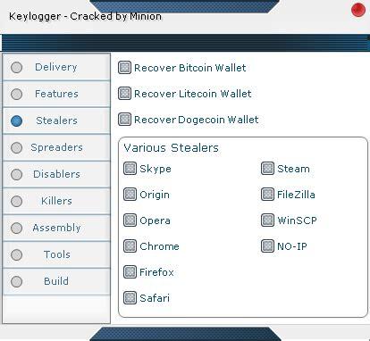 bitcoin botnet tutorial botnet sources logos keylogger spreaders stealers