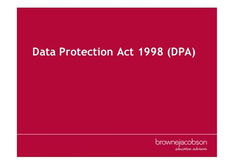 data protection act 1998 section 7 education law conference march 2017 manchester