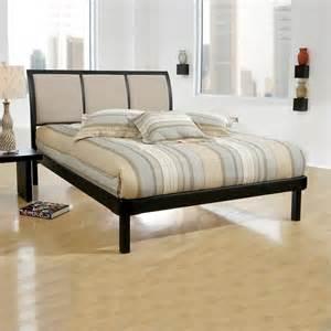Modern Upholstered Bed hillsdale erickson modern upholstered platform bed ebay