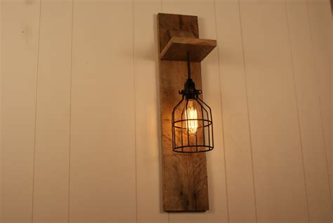 Wall Mount Chandelier Cage Light Chandelier Wall Mount Fixture By Bornagainwoodworks