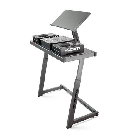 floor desk dj booth workstation 2 floor laptop stand table desk