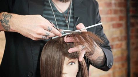 cutting boys hair in layers around face how to layer hair around the face without creating bulk