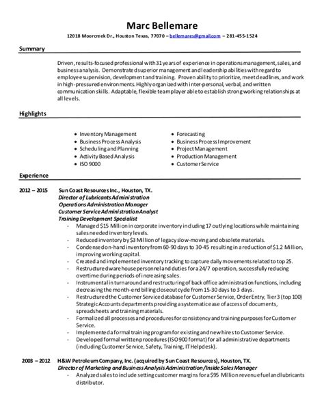 process improvement resume 28 images process improvement resume process improvement