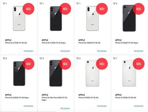 les iphone xs en pr 233 commande chez un revendeur roumain appsystem