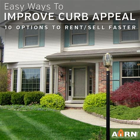improve curb appeal 10 easy ways to improve curb appeal ahrn