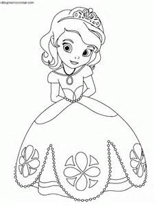 dibujos sin colorear dibujos la princesa sof 237 princesa disney colorear