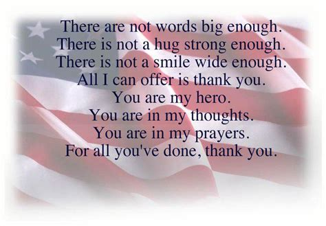 Veterans Day Thank You Poems | veterans