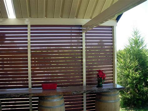 Patio Divider Ideas Outdoor Wooden Patio Outdoor Privacy Screen Ideas