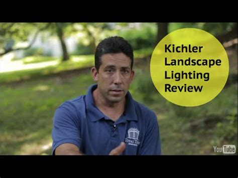 kichler landscape lighting reviews kichler landscape lighting review