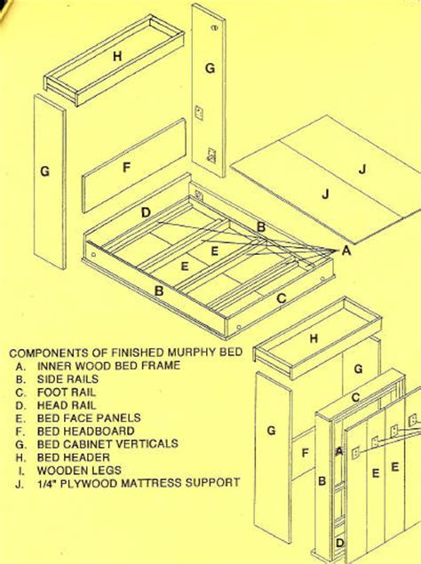 wall bed plans plans to build wall bed plans blueprints pdf plans