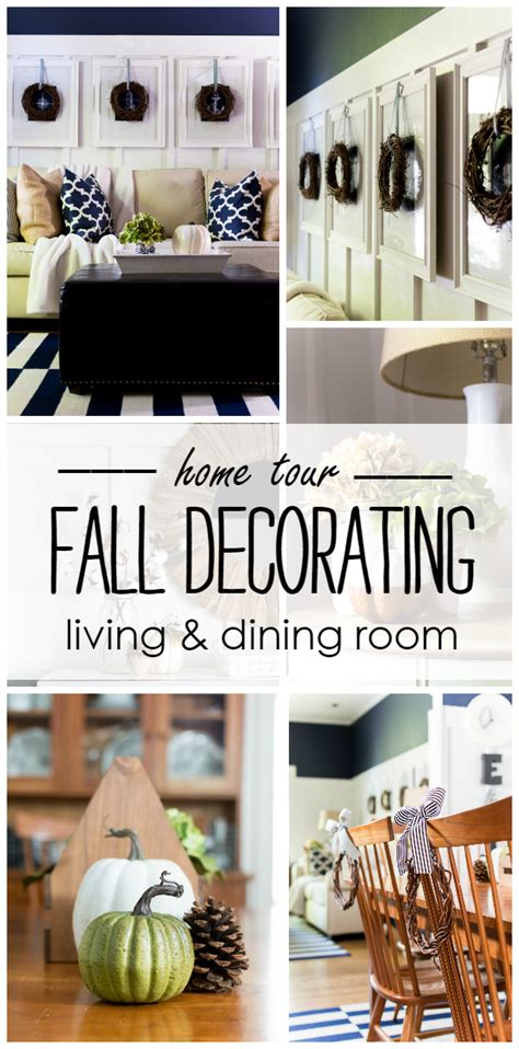 fall home tour living dining room it all started with