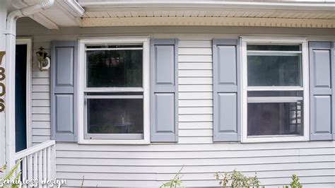 Painting Vinyl Shutters by The Lazy S Guide On How To Paint Shutters To Improve