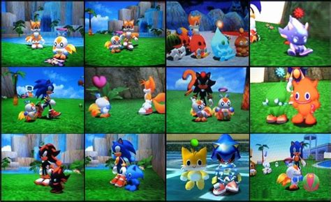 Sonic Chao Garden by Chao Square Collage By Reallyfaster On Deviantart