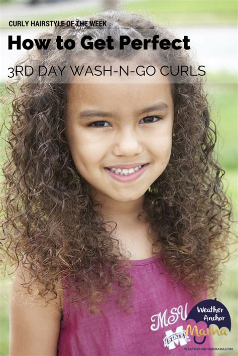 toddler updos for mixed hair mixed hair care third day wash n go curls