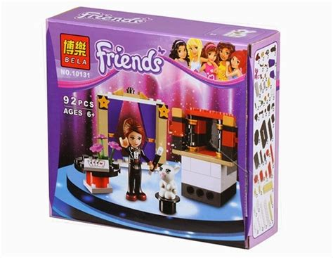 mainan anak edukatif lego friends bela 10131 s magic