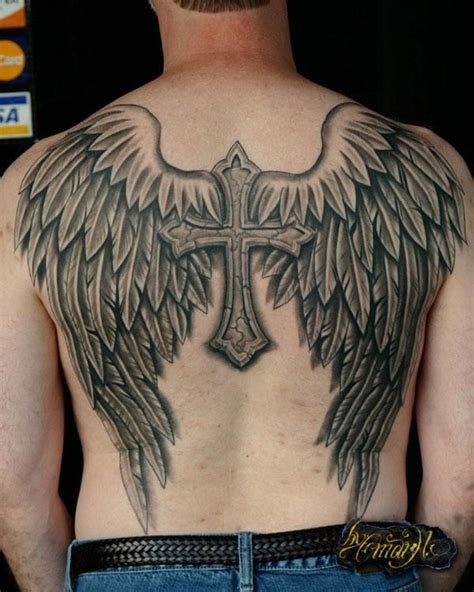 27 best cloud cross with wings tattoo images on pinterest best 25 guy tattoos ideas on pinterest tattoos shadow