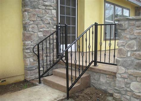 Ornamental Handrail ba ramirez iron works gallery wrought iron stair guard railing san diego ca