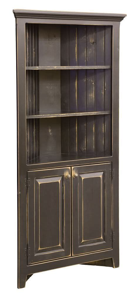 primitive kitchen pantry solid wood storage cupboard