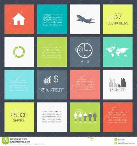flat layout photography flat design stock vector image of concept layout