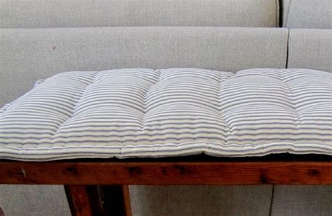 custom bench cushions bench pad custom bench cushion ticking stripe window seat
