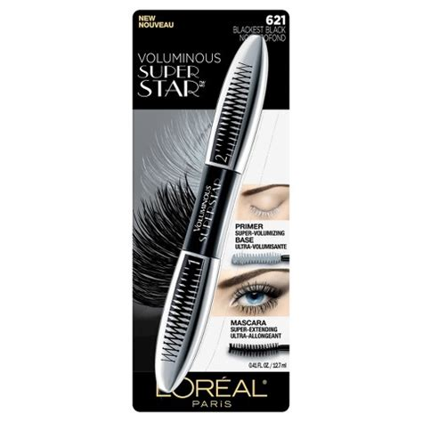 Harga L Oreal Voluminous Superstar Mascara l or 233 al 174 voluminous superstar mascara target