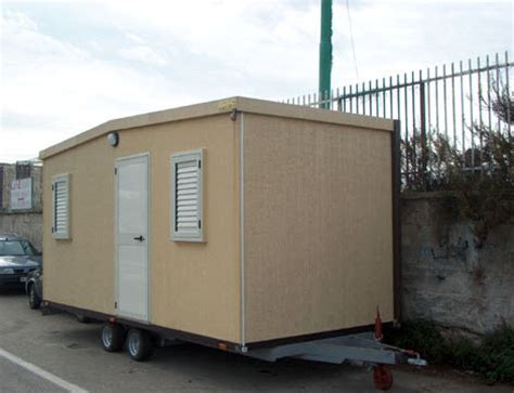 ufficio mobile su ruote mobili prefabbricate