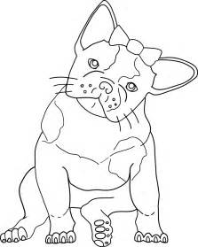 gallery gt cute bulldog coloring pages