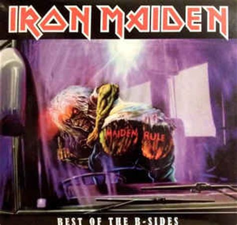 iron maiden the best of iron maiden best of the b sides vinyl lp at discogs