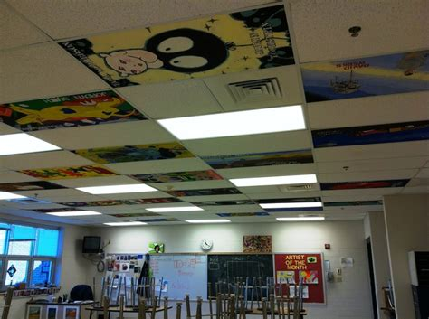 School Ceiling Tiles by 1000 Images About Classroom Ideas On Painted Ceilings Fireflies And Programs