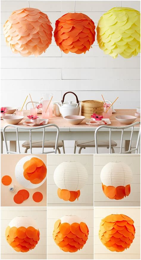 Tissue Paper Lantern Craft - 18 amazing diy paper lanterns and ls diy paper