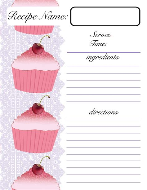 apple pages recipe card template free recipe card templates for word