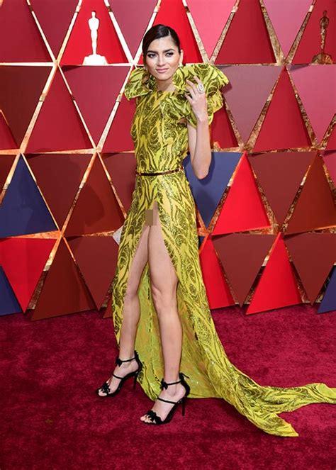 Wardrobe Oscars by Blanca Blanco Suffers Major Wadrobe At Oscars 2017