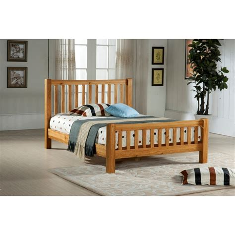 Solid Oak Single Bed Frame 3ft Free Next Day Delivery Bed Frame Next Day Delivery